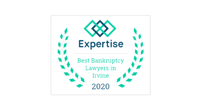 Expertise Award - Best Bankruptcy Lawyers in Irvine 2020